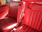 Safety belts in Bristol 408