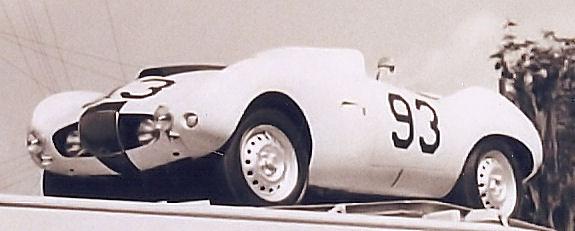 Sebring 1957 ( 3009 was spare car )