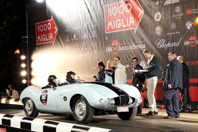 1000 Miglia 2010 departure
