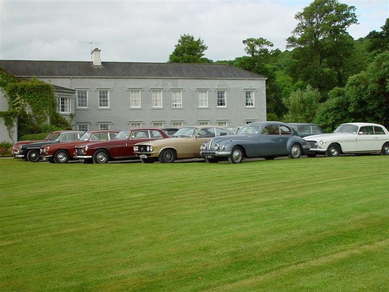 Fine Bristols at Gregans Castle Hotel, Ballyvaughan, County Claire - in the West of Ireland, Friday, 28 June 2002. 