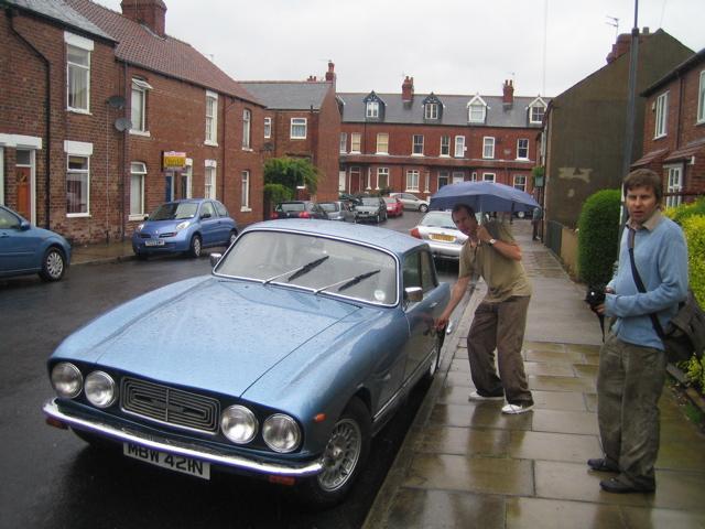 Bristol on wet day in York