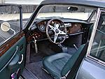 interior showing motolita wheel