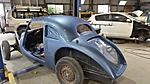 The body painted- still at the paint shop