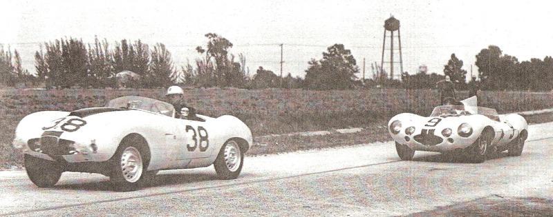 Sebring n 38 1957 with D Type